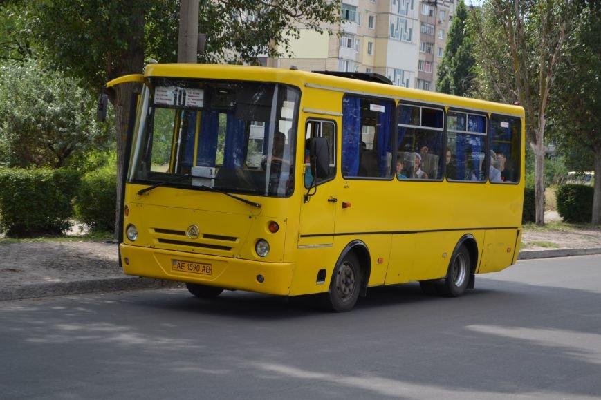 В Каменском вступили в силу тарифы на проезд в маршрутках, фото-1