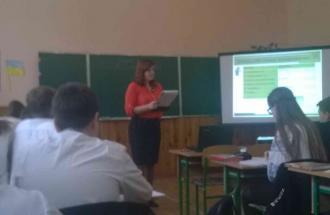 В Новоград-Волинській ЗОШ №2 відбувся семінар-практикум вчителів математики, фото-1