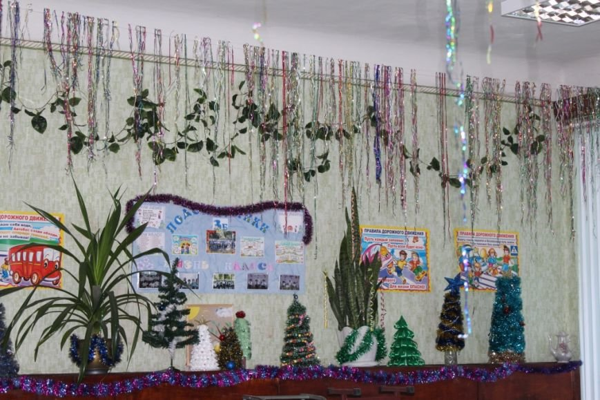 Новошахтинские школы уже украшены по-новогоднему, фото-2