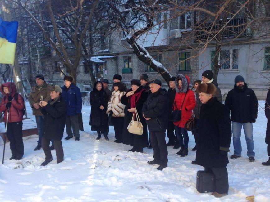 В Каменском открыли мемориальную доску поэту-диссиденту Владимиру Сиренко, фото-6