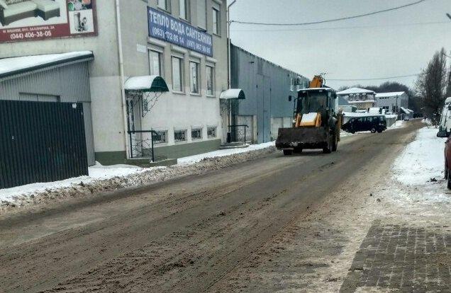 ФОТОФАКТ: Уборка снега в Вишневом, фото-2
