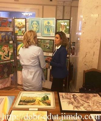 Работы воспитанников Добропольского ЦДЮТ вошли в экспозицию выставки в Парламенте, фото-3