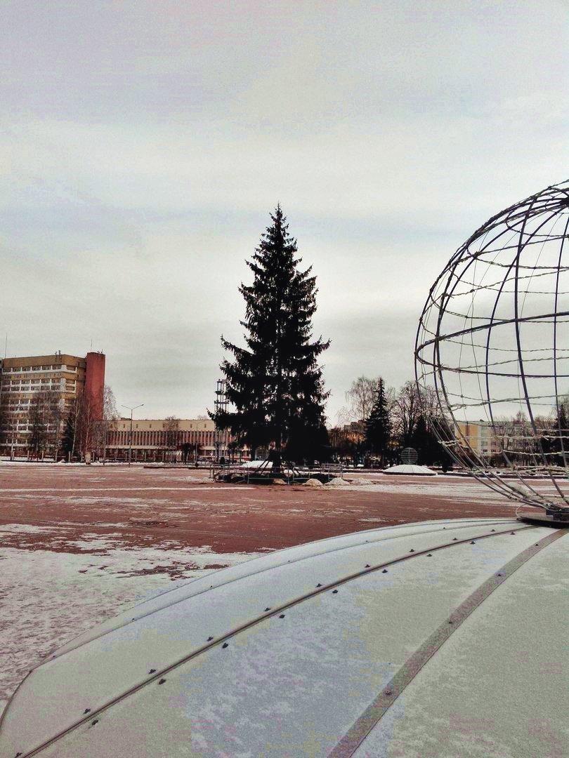 Светящиеся шары и «фонтаны»: Новополоцк украсят новой праздничной иллюминацией, фото-1