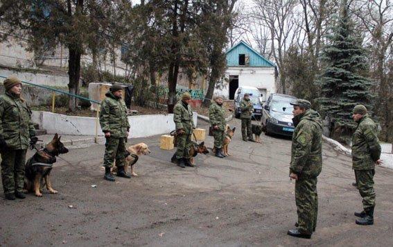 """К-9: донецкая полиция показала """"униформу"""" для четвероногих, фото-1"""