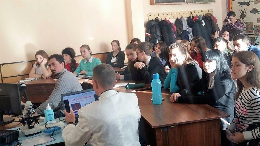 Криворожские школьники узнали о лечении болезни, носителями которой являются 80% людей (ФОТО), фото-11
