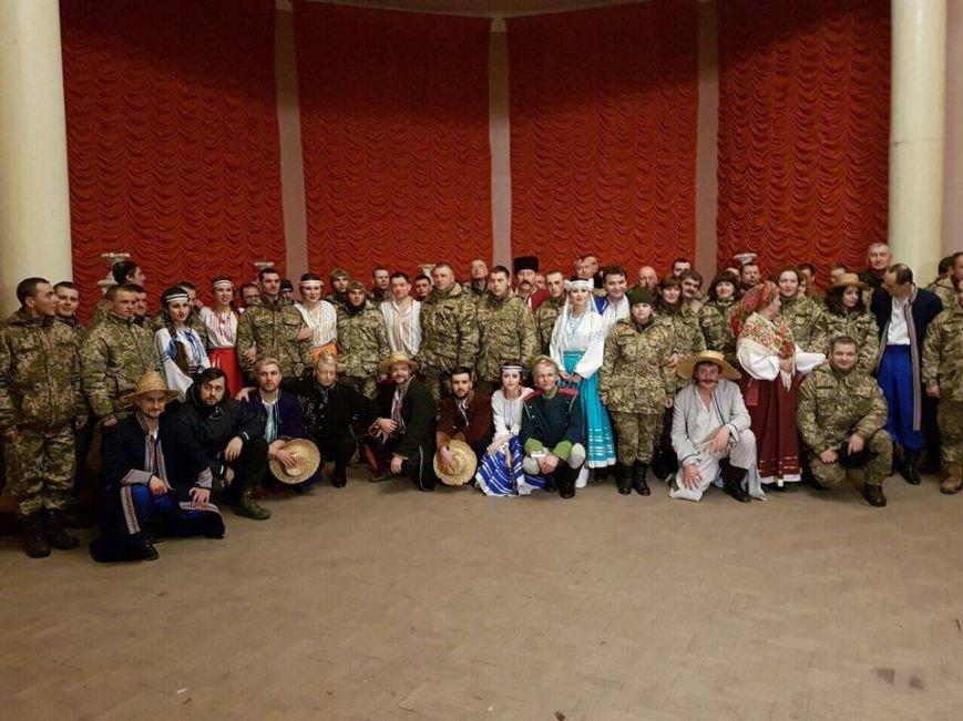 Тернопільські актори відвідали захисників України у зоні АТО і показали виставу (ФОТО), фото-7