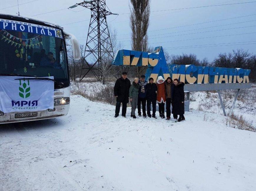 Тернопільські актори відвідали захисників України у зоні АТО і показали виставу (ФОТО), фото-1