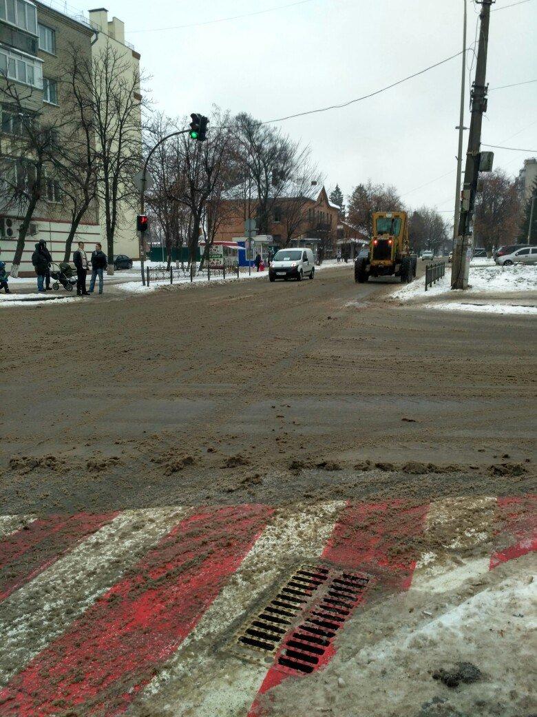 Уборка снега в Вишневом: продолжение (ФОТО), фото-3