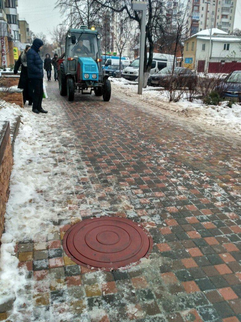 Уборка снега в Вишневом: продолжение (ФОТО), фото-14