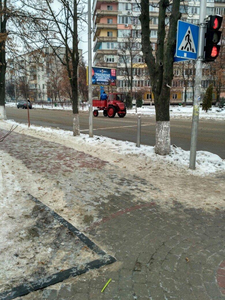 Уборка снега в Вишневом: продолжение (ФОТО), фото-5
