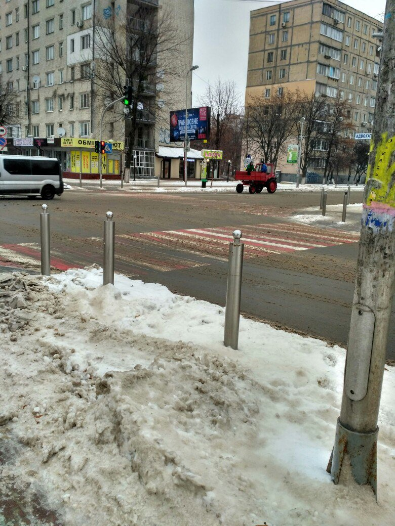 Уборка снега в Вишневом: продолжение (ФОТО), фото-7