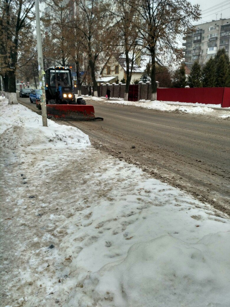 Уборка снега в Вишневом: продолжение (ФОТО), фото-10