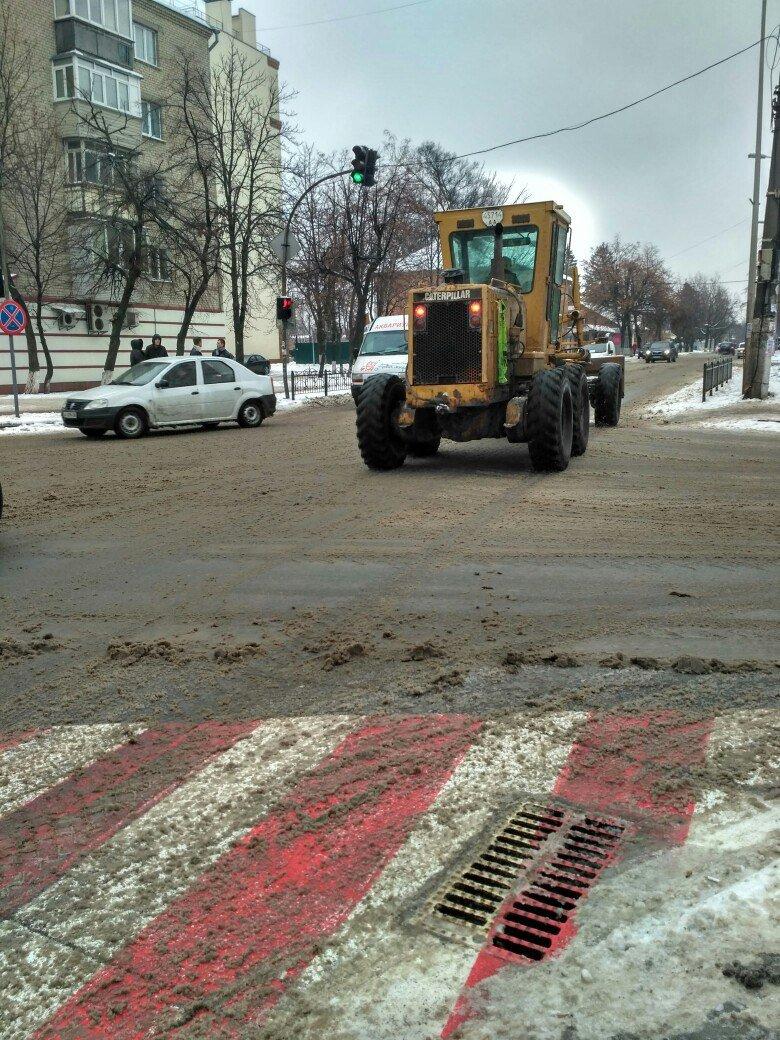Уборка снега в Вишневом: продолжение (ФОТО), фото-4