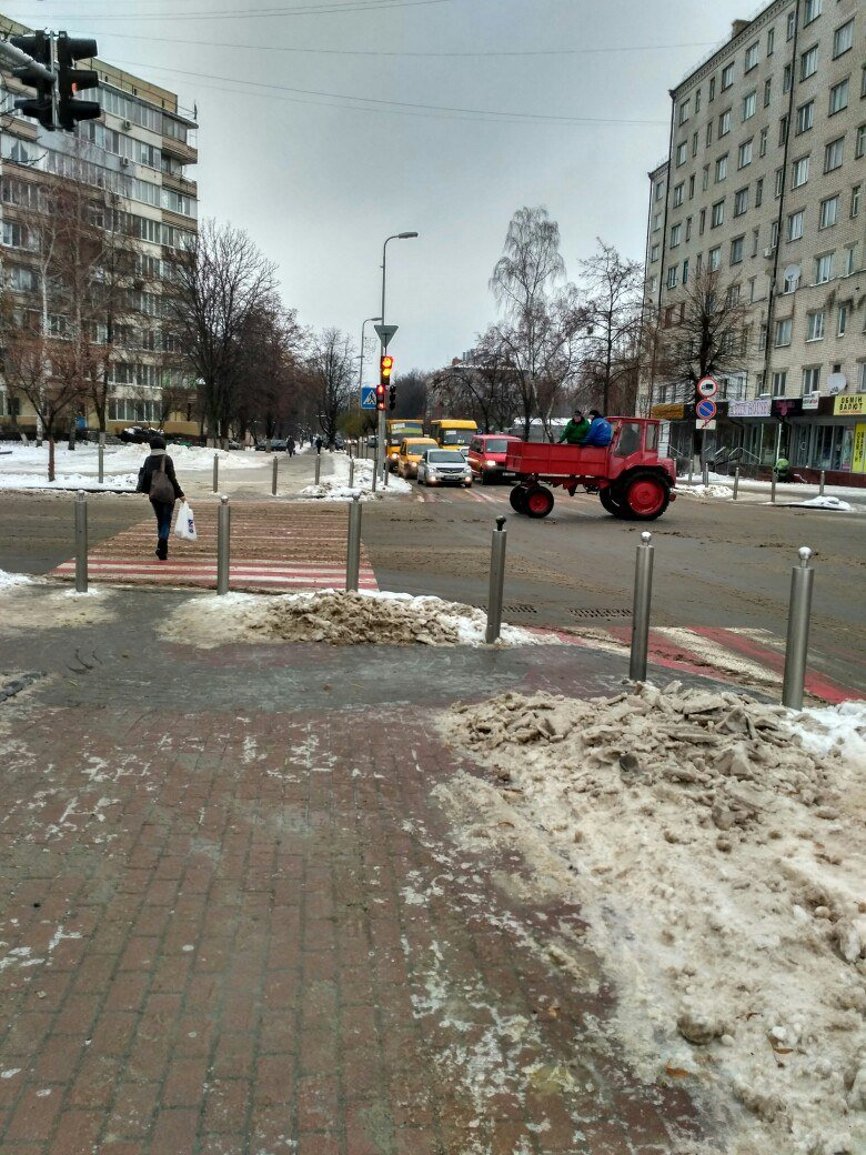 Уборка снега в Вишневом: продолжение (ФОТО), фото-11