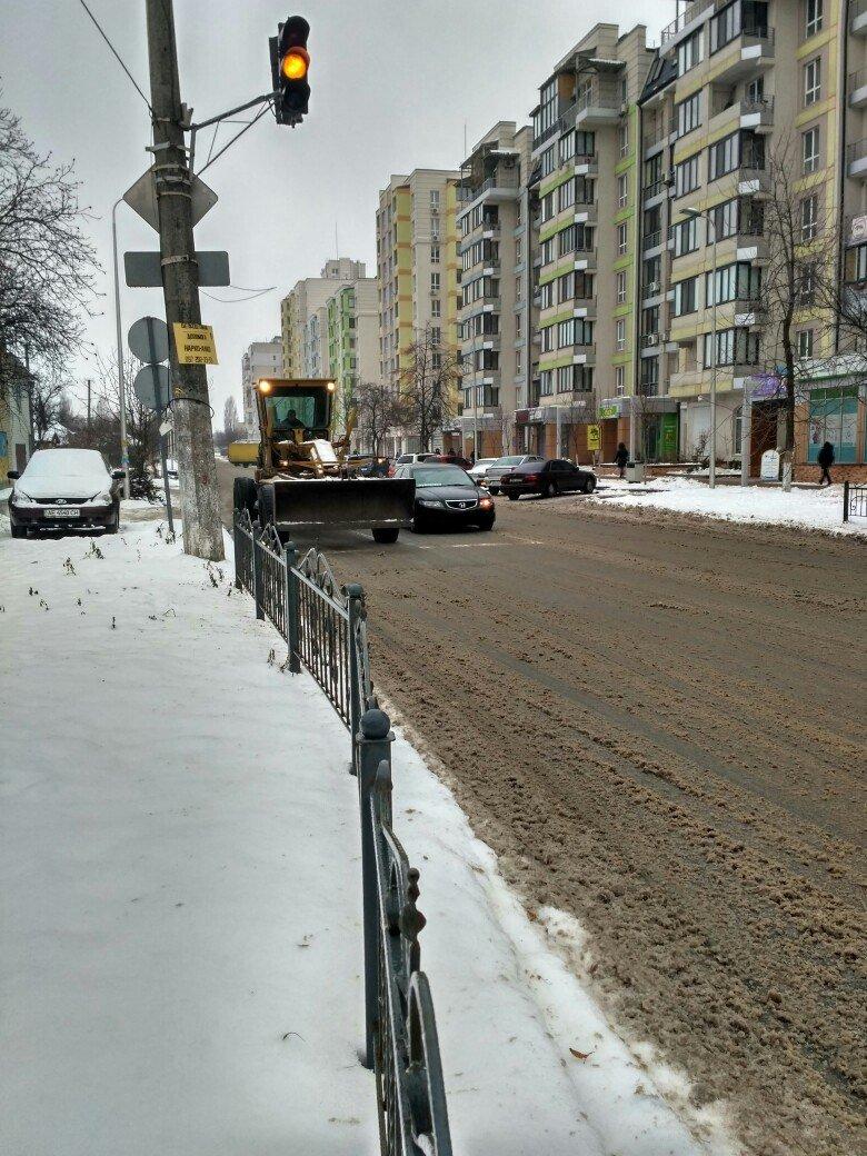 Уборка снега в Вишневом: продолжение (ФОТО), фото-8