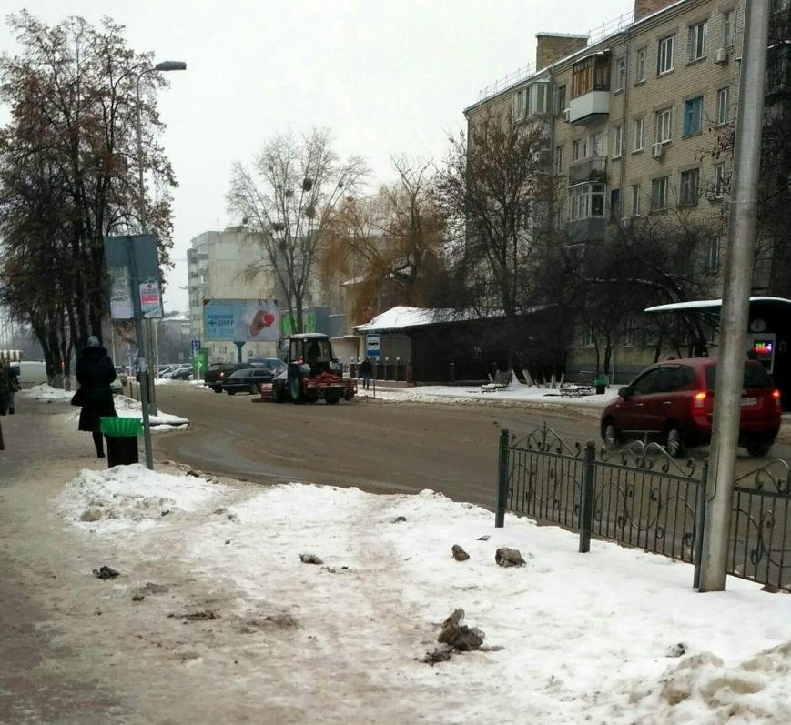 Уборка снега в Вишневом: продолжение (ФОТО), фото-13