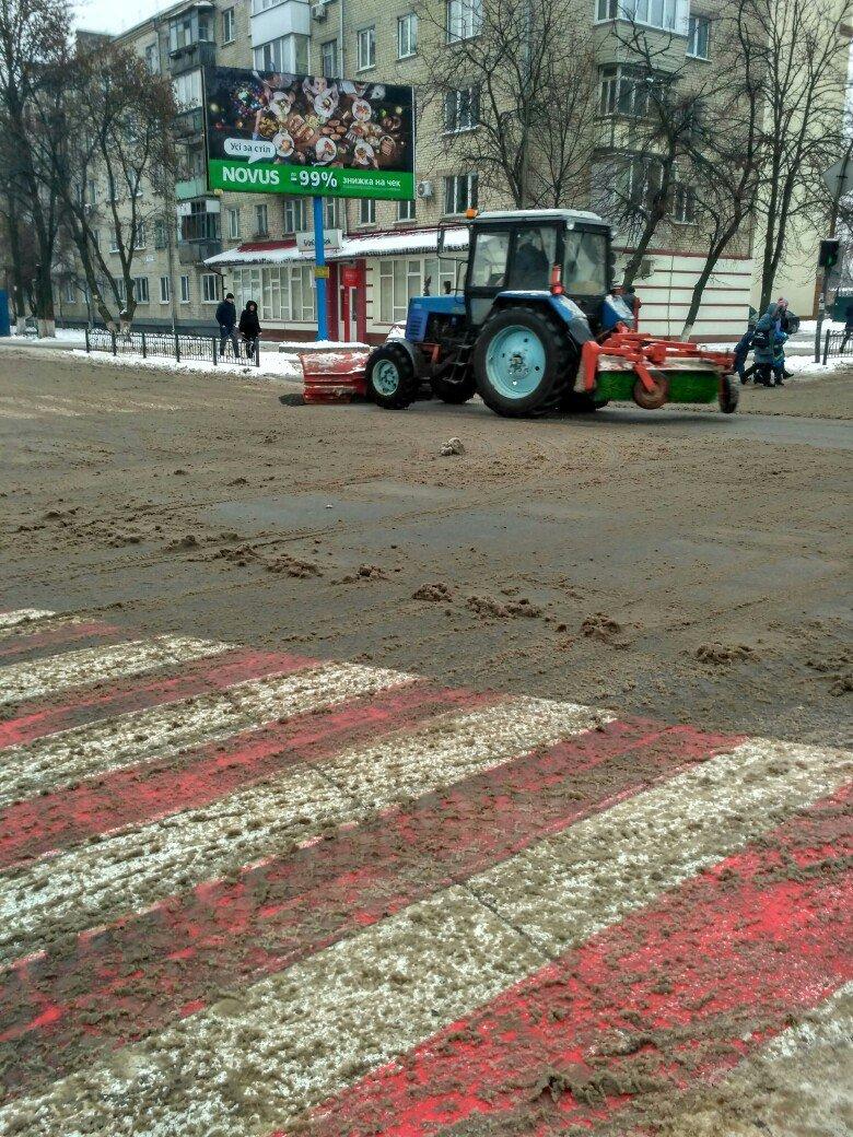 Уборка снега в Вишневом: продолжение (ФОТО), фото-9