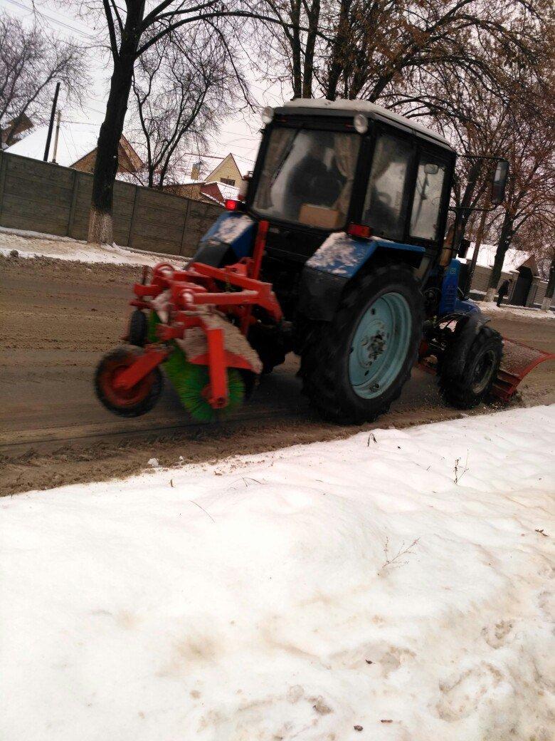 Уборка снега в Вишневом: продолжение (ФОТО), фото-6