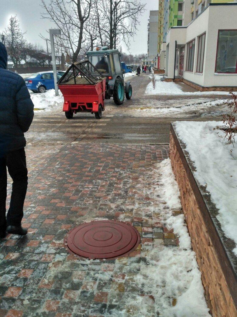 Уборка снега в Вишневом: продолжение (ФОТО), фото-12