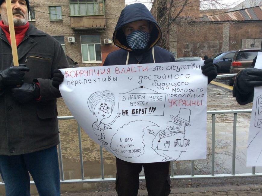В Мариуполе митингующие против коррупции рассказывали страшные истории под прокуратурой (ФОТО+ВИДЕО), фото-2