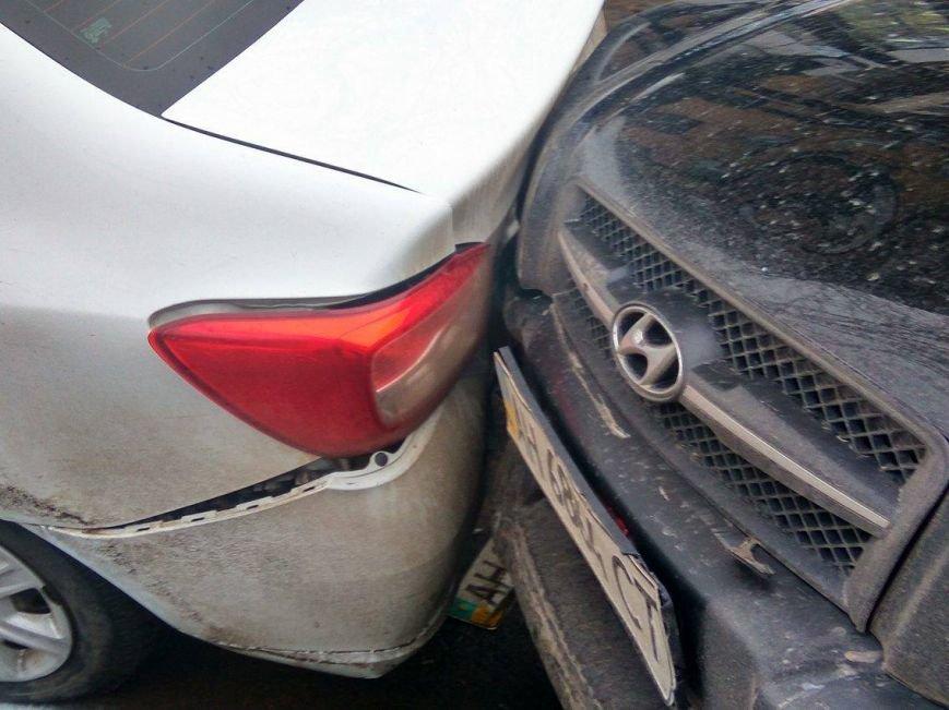 В Мариуполе сразу 5 автомобилей попали в аварию на пр. Мира (ФОТО+ВИДЕО), фото-4