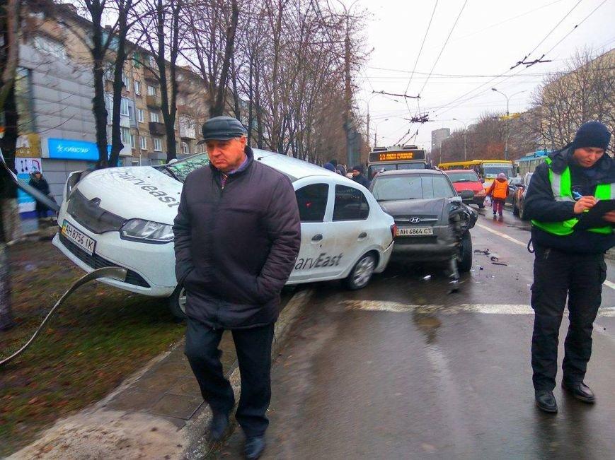 В Мариуполе сразу 5 автомобилей попали в аварию на пр. Мира (ФОТО+ВИДЕО), фото-2