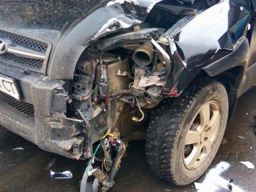 В Мариуполе сразу 5 автомобилей попали в аварию на пр. Мира (ФОТО+ВИДЕО), фото-3