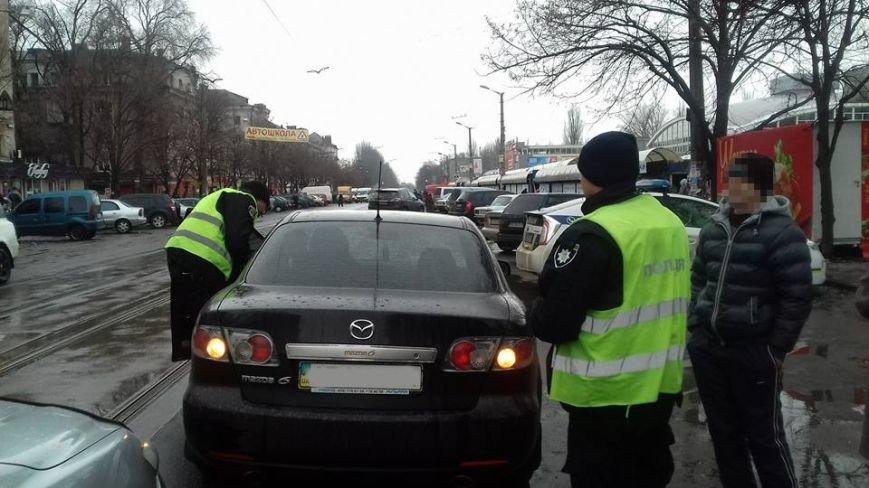 Две автоледи заблокировали проезд трамваев на улице Соборности в Кривом Роге (ФОТО), фото-9