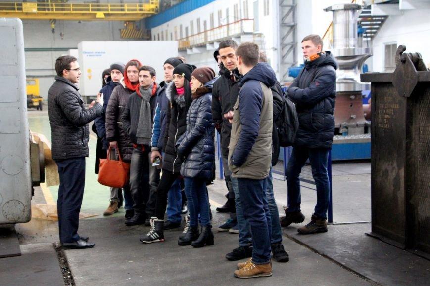 Лучшие краматорские студенты попали на НКМЗ, фото-2