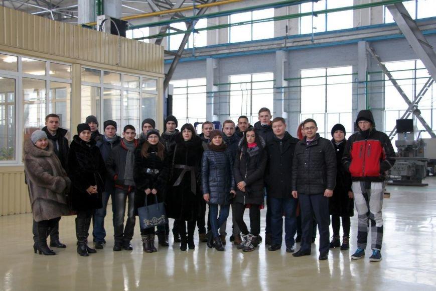 Лучшие краматорские студенты попали на НКМЗ, фото-4