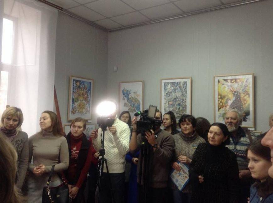 В художественном музее Мариуполя прошла выставка иллюстратора детских книг Виктории Ковальчук (ФОТО), фото-6