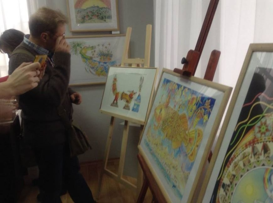 В художественном музее Мариуполя прошла выставка иллюстратора детских книг Виктории Ковальчук (ФОТО), фото-10