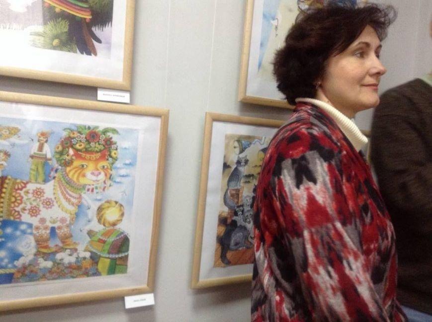 В художественном музее Мариуполя прошла выставка иллюстратора детских книг Виктории Ковальчук (ФОТО), фото-13