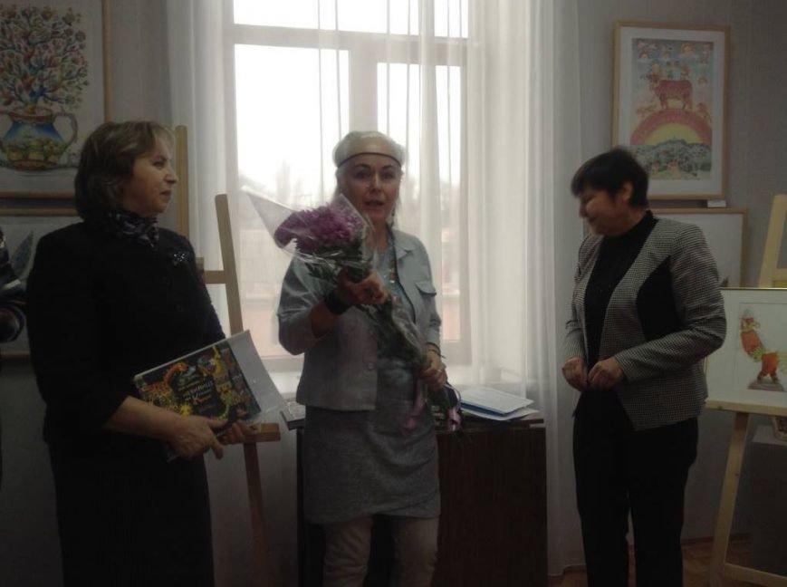 В художественном музее Мариуполя прошла выставка иллюстратора детских книг Виктории Ковальчук (ФОТО), фото-8