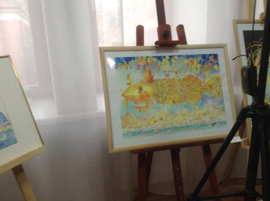 В художественном музее Мариуполя прошла выставка иллюстратора детских книг Виктории Ковальчук (ФОТО), фото-4