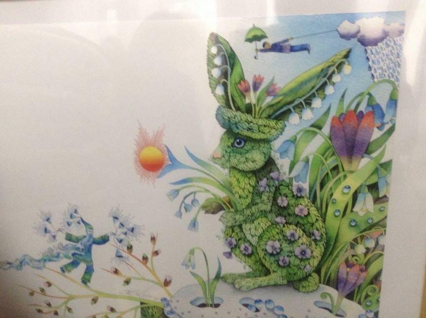 В художественном музее Мариуполя прошла выставка иллюстратора детских книг Виктории Ковальчук (ФОТО), фото-12