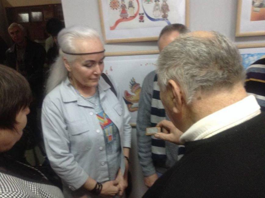 В художественном музее Мариуполя прошла выставка иллюстратора детских книг Виктории Ковальчук (ФОТО), фото-9