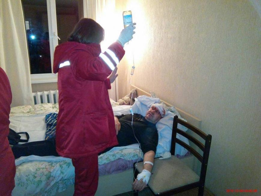 Накануне Дня прав человека в Кривом Роге жестоко избили известного правозащитника Анатолия Руденко (ФОТО) (ОБНОВЛЕНО), фото-2