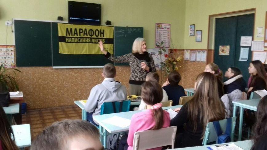 Студенты и школьники Кривого Рога поддержали несправедливо заключенных (ФОТО), фото-13
