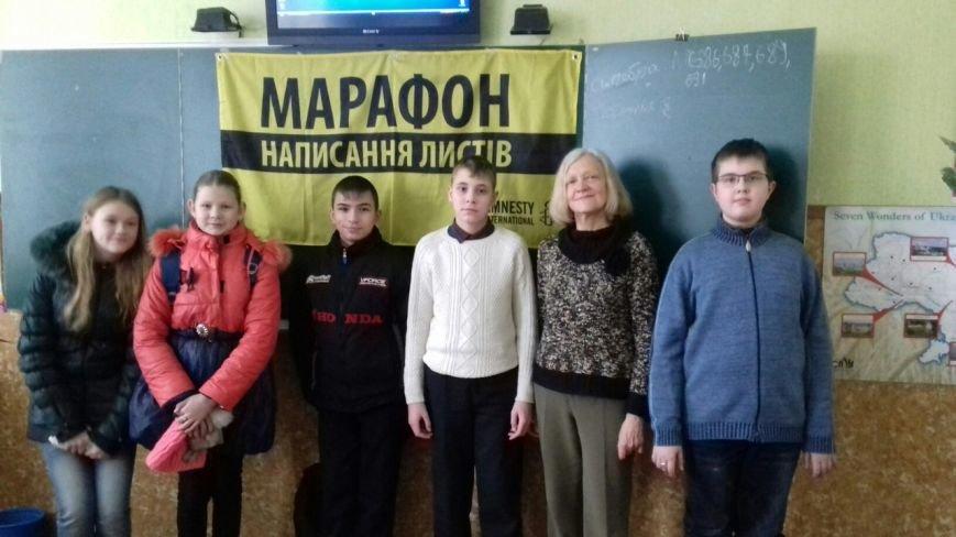 Студенты и школьники Кривого Рога поддержали несправедливо заключенных (ФОТО), фото-15