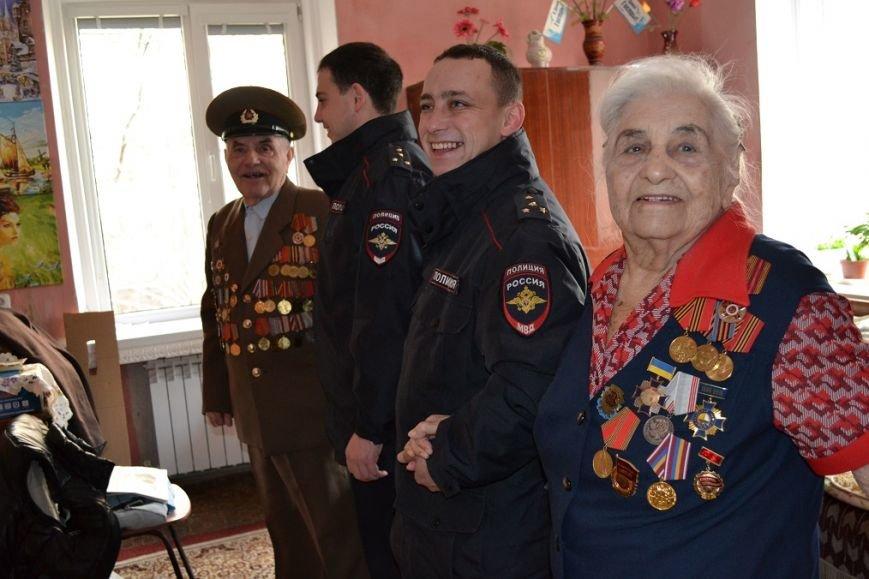 Визит Почёта к гаспринскому Ветерану ВОВ Александру Попову в День Героев Отечества, фото-1