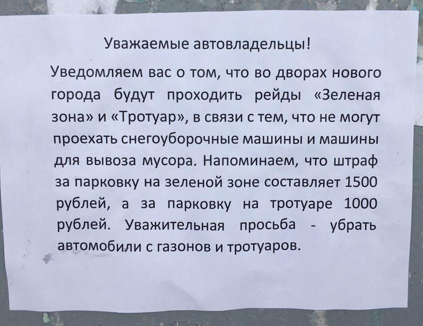 Городские службы Ульяновска взялись за автопарковщиков, фото-1