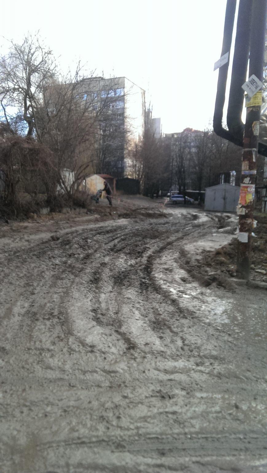 В Днепре ж/м Тополь-2 превратился в болото (ФОТОФАКТ), фото-1