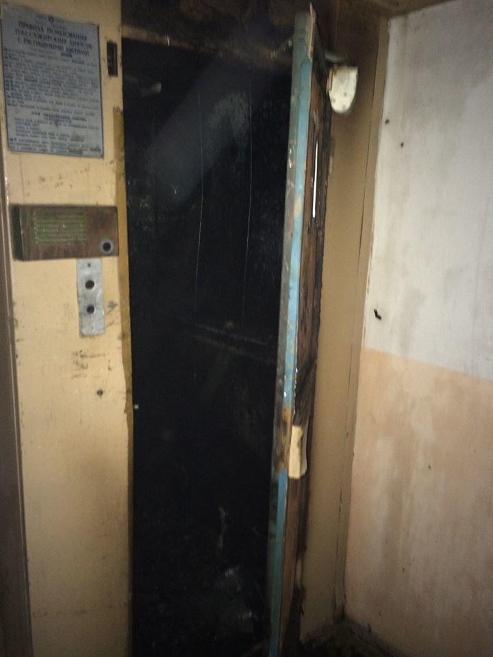 Ужгородські рятувальники оприлюднили фото пожежі у ліфті на Минайській, фото-2