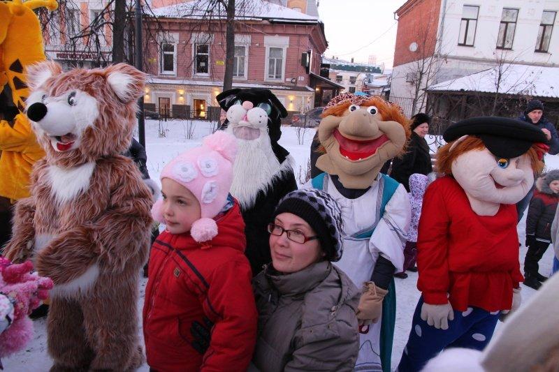 По Ульяновску прошлись Деды Морозы. ФОТО, фото-4