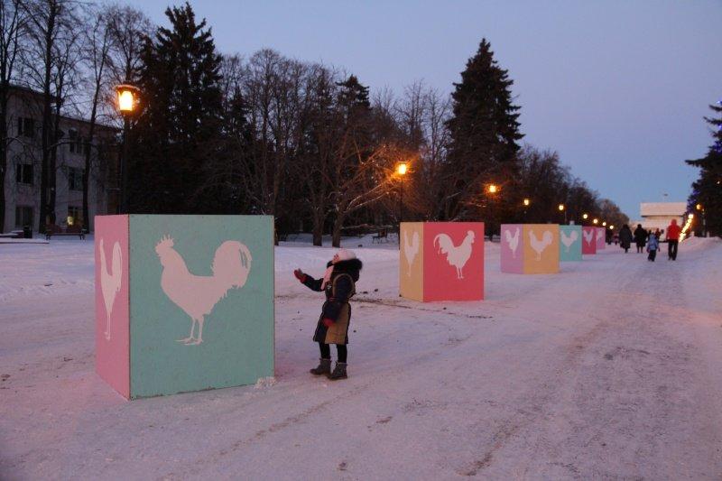 По Ульяновску прошлись Деды Морозы. ФОТО, фото-12