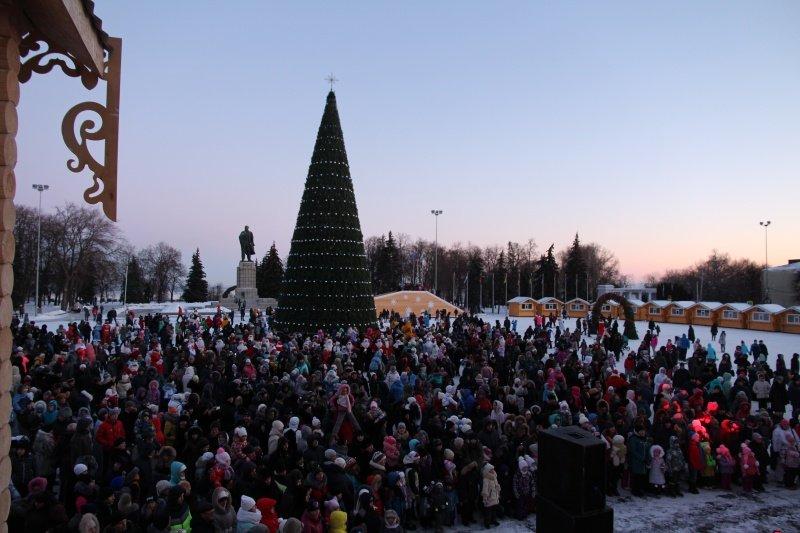 По Ульяновску прошлись Деды Морозы. ФОТО, фото-8