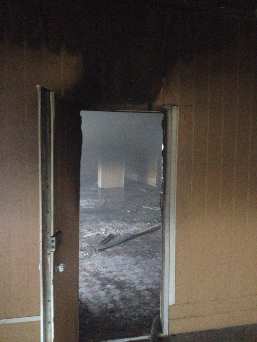Огонь уничтожил в криворожском ВУЗе дорогостоящее кухонное оборудование (ФОТО), фото-1