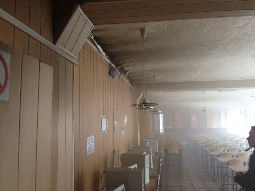 Огонь уничтожил в криворожском ВУЗе дорогостоящее кухонное оборудование (ФОТО), фото-2