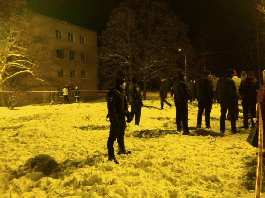 В Чернигове рухнуло общежитие (обновляется), фото-8